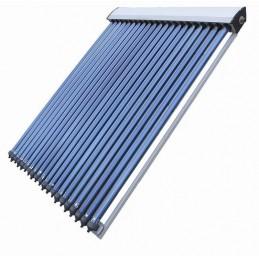 Colector solar, 20 tubos...